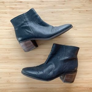 Lucky brand | black ankle booties